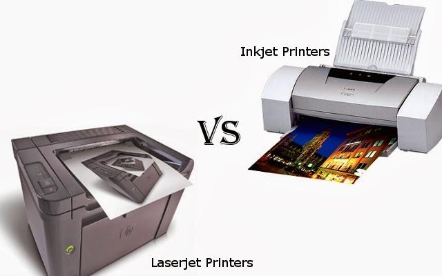 پرینتر جوهرافشان یا لیزری: کدام بهتر است؟
