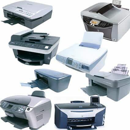 3 نوع چاپگر